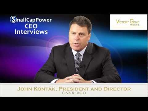 Victory Gold Mines (CNSX: VGO) CEO Interview On Smallcap Power