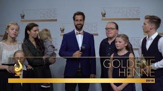 Und wieder eine Henne für Angelo Kelly  Goldene Henne 2018  MDR