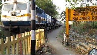 (HD) 12872 Howrah Titlagarh Ispat Super Fast Ex...