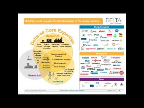 Delta-ee Webinar - Why telcos could disrupt the connected home energy market