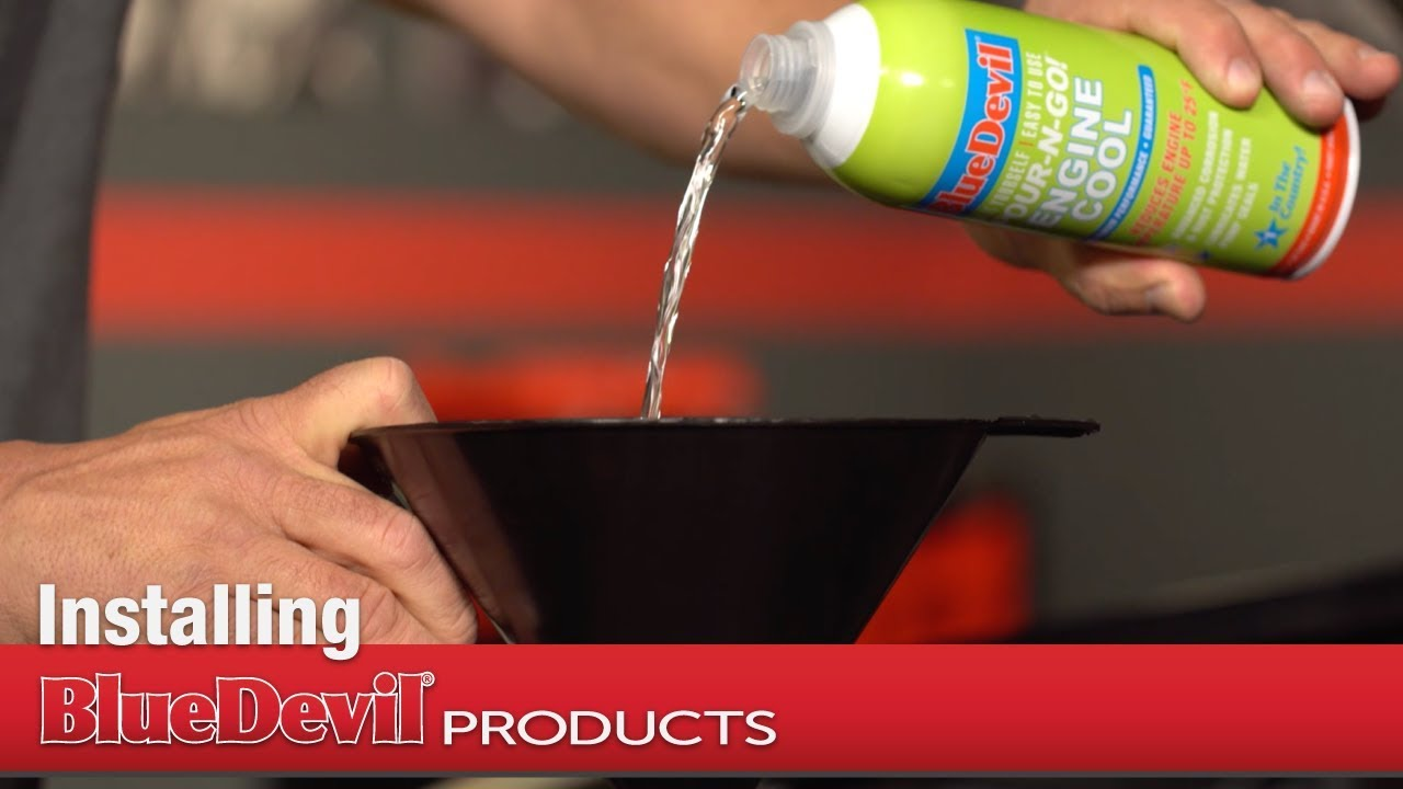 How to Install BlueDevil Engine Cool