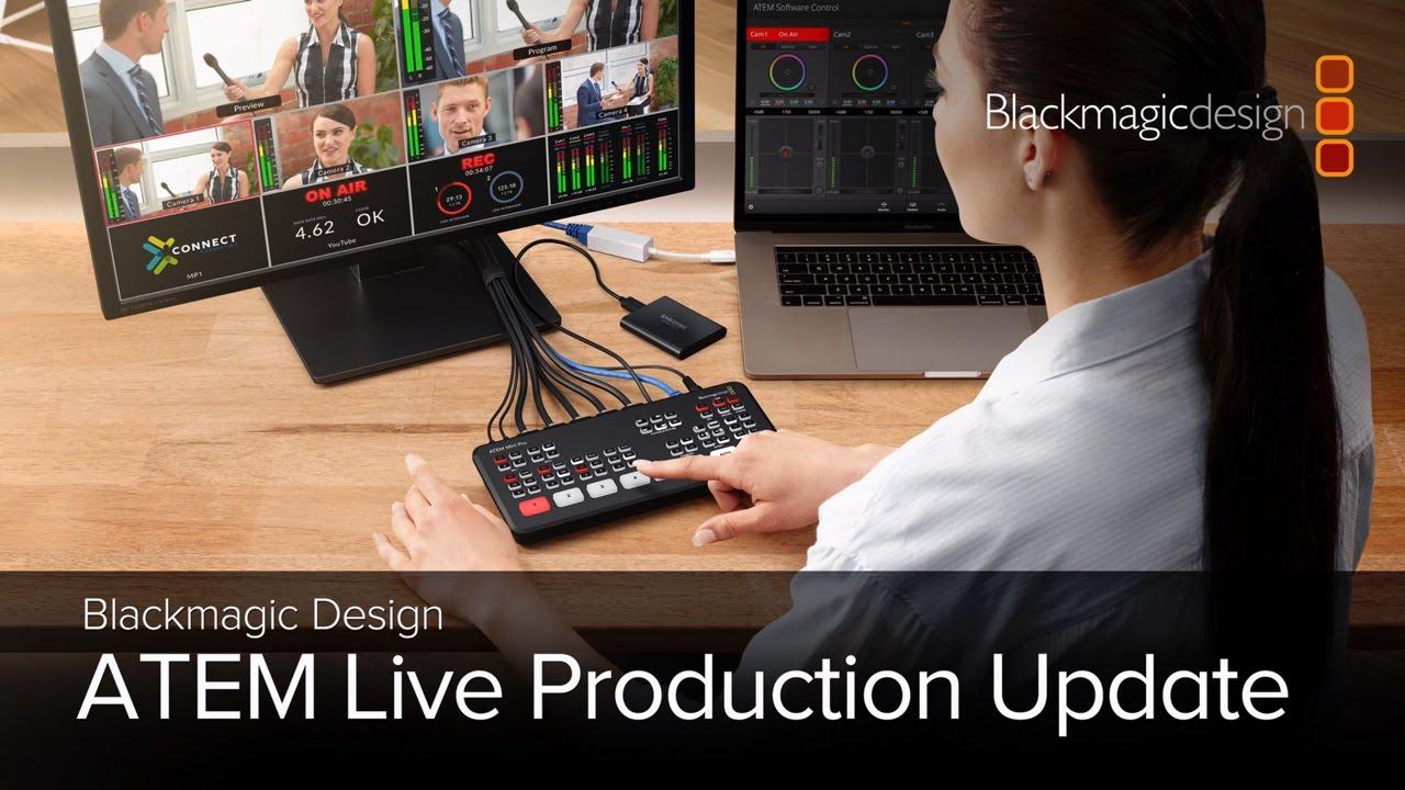 Atem Live Production Update Youtube