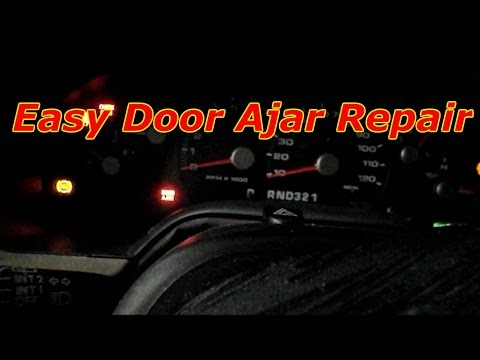 How To Repair The Door Ajar Light On Ford Explorer