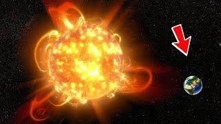 What if UY Scuti Explodes into Supernova?