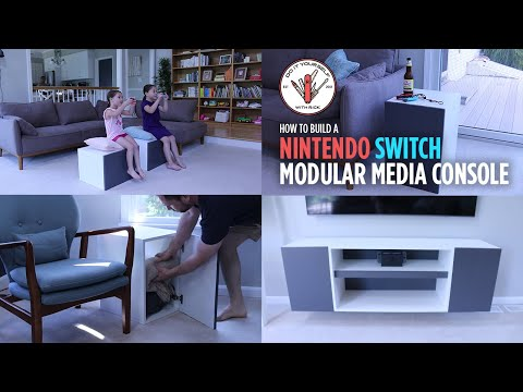 Build a Modular Media Console inspired by the Nintendo Switch