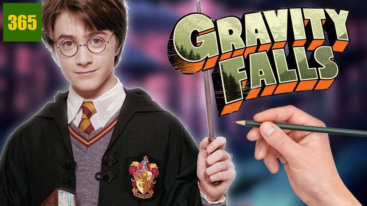 Comment dessiner harry potter style gravity falls art - Comment dessiner harry potter ...