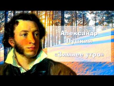 Изображение предпросмотра прочтения – СветланаВодякова читает произведение «Зимнее утро» А.С.Пушкина