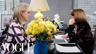 Download lagu Meryl Streep Meets Anna Wintour at Vogue