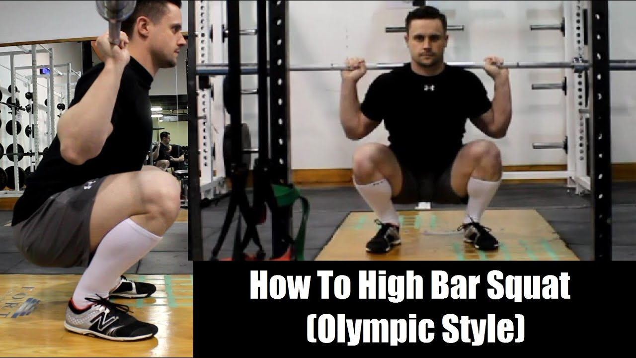 How to High Bar Squat