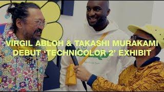 Virgil Abloh & Takashi Murakami Talk Their Joint 'Technicolor 2' Exhibit
