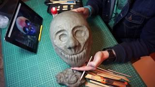 как сделать  маску Вульфа из игры PayDay 2