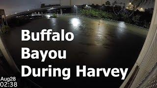 Buffalo Bayou Timelapse During Harvey