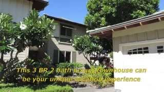 Beautiful Hawaii Palm Villas Vacation Townhouse At The Mauna Lani Resort