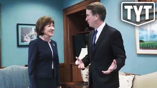 Kavanaugh Sends Creepy 'Thank You' To Susan Collins
