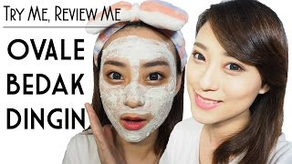 Ovale Bedak Dingin - Try Me, Review Me