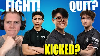 Jerian Wants To FIGHT Unknown Now? Khanada LEAVES TSM? ZexRow QUITTING Fortnite FOREVER?