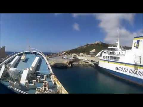 Malta , Ferry trip to Gozo to see the site of the collapsed Azure Window .April 19th 2017