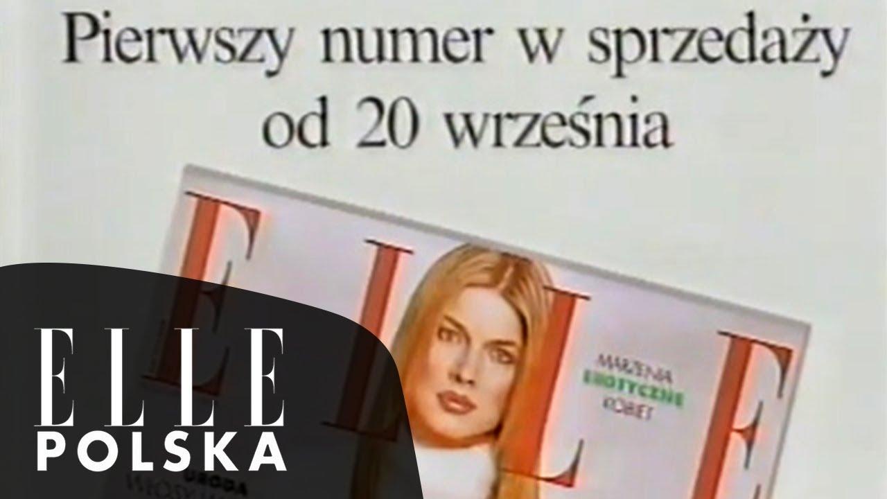 Dawne reklamy - lata 90 - magazyn ELLE Polska 1994 pierwszy zachodni magazyn