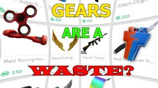 Roblox Gears Are A Waste Of Robux