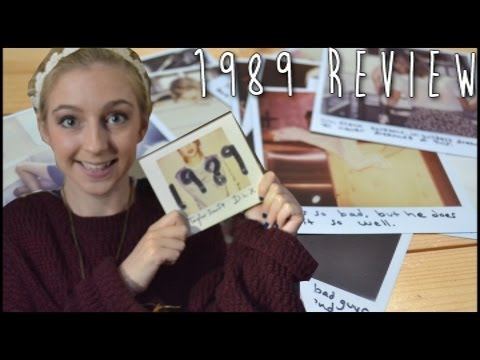 '1989' Taylor Swift Deluxe Album Review Track By Track | FKVlogs