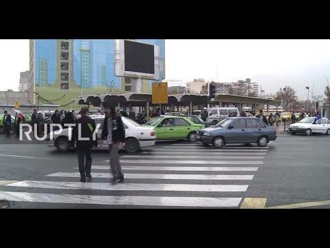 Iran: Residents of Tehran react as anti-govt. protests enter 6th da