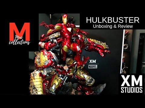 xm-studios-hulkbuster-statue-|-unboxing-&-review