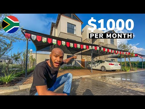 What $1000 per Month Gets You In Johannesburg South Africa