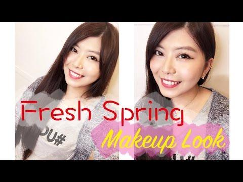 晨雅Chanya 春天日常甜美妝♡Fresh Spring Makeup Look |Charlotte Tilbury|Visee|Excel|H&M|