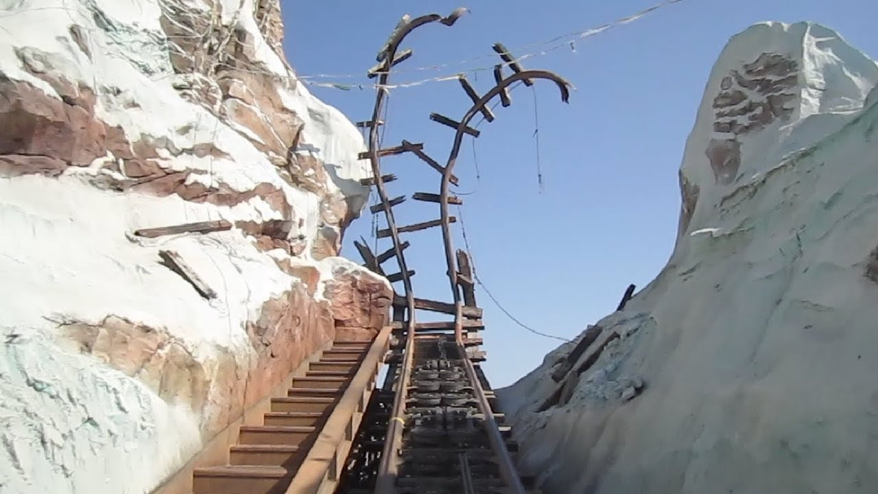 Expedition Everest front seat on-ride HD POV Disney's Animal ...