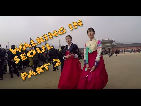 Walking in Seoul City (South Korea) Part2