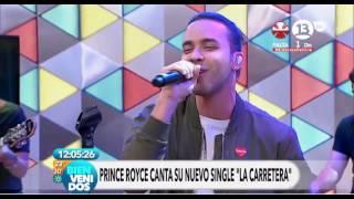 """Prince Royce """"La Carretera"""" en Bienvenidos"""