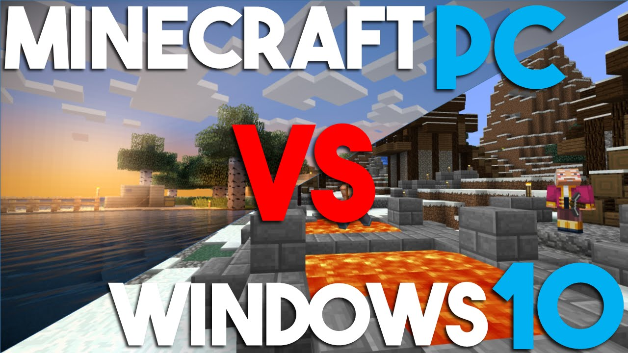 How is Minecraft Windows 10 Edition Different from PC Minecraft
