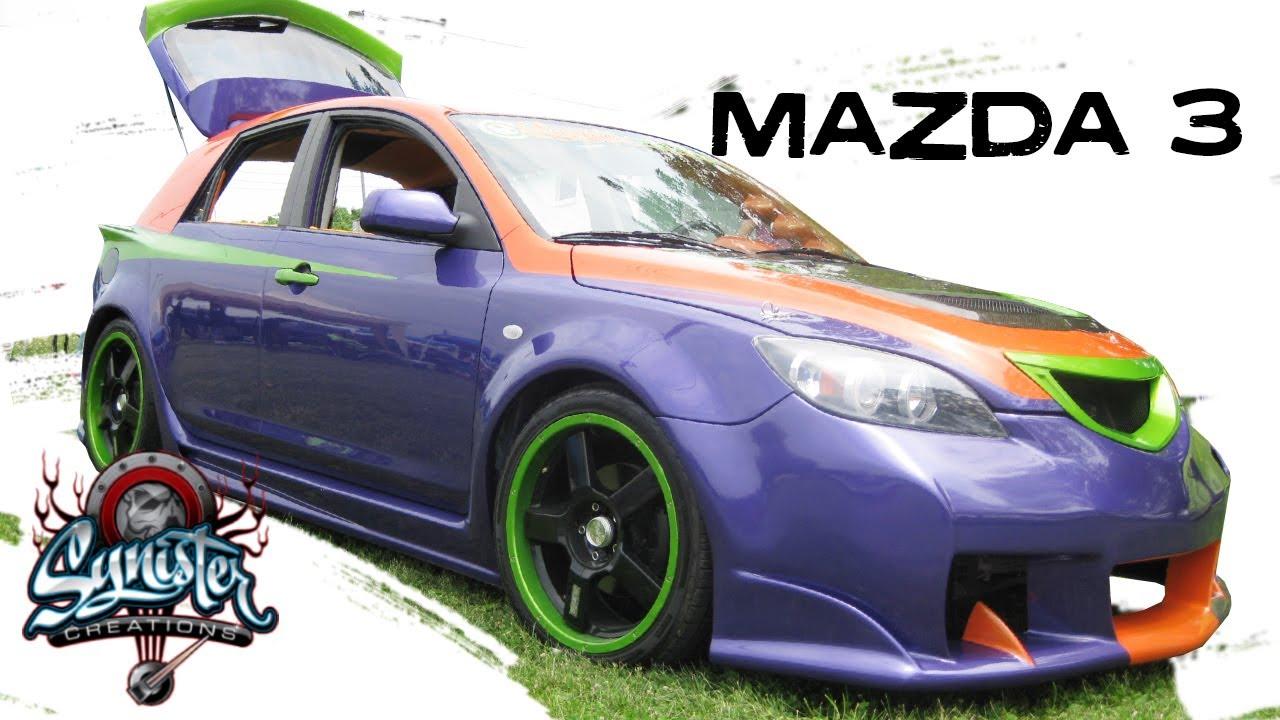 Mazda 3 Custom Design Youtube
