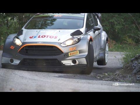 Robert Kubica Test Pre Tour De Corse WRC 2015