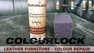 How to clean repair and care leather furniture - www.colourlock.com