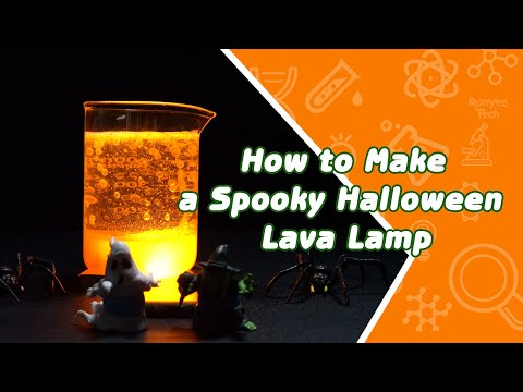 Make a Spooky Halloween Lava Lamp