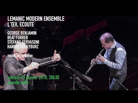 Lemanic Modern Ensemble | Spectacles vivants - IRCAM | Centre Pompidou