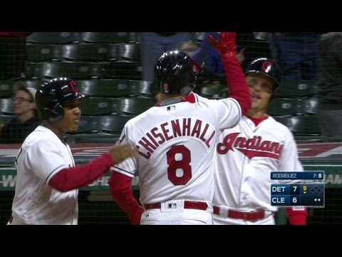Chisenhall hammers a grand slam in the 9th