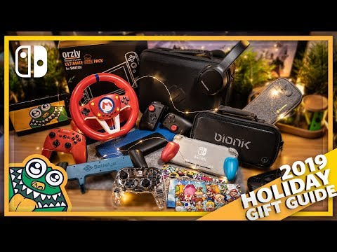 Nintendo Switch Holiday Gift Guide 2019 - List and Overview + GIVEAWAY!