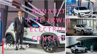 Renault K-ZE (Kwid Electric) Concept Unveiled - #Reviewsofyeathartsurace