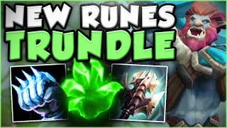 Video COME ON RIOT! TRUNDLE HEALING IS SO STUPID NOW WITH NEW RUNES! TRUNDLE SEASON 8! - League of Legends download MP3, 3GP, MP4, WEBM, AVI, FLV November 2017