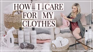 HOW TO CARE For Your CLOTHES | Easy Tips | Shannon Sullivan
