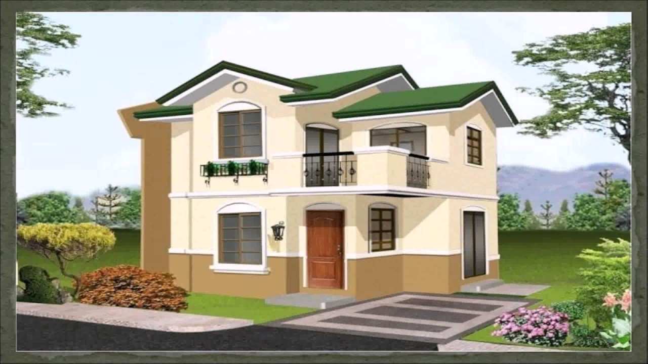 100 square meter house design philippines youtube for Home design 84 square metres