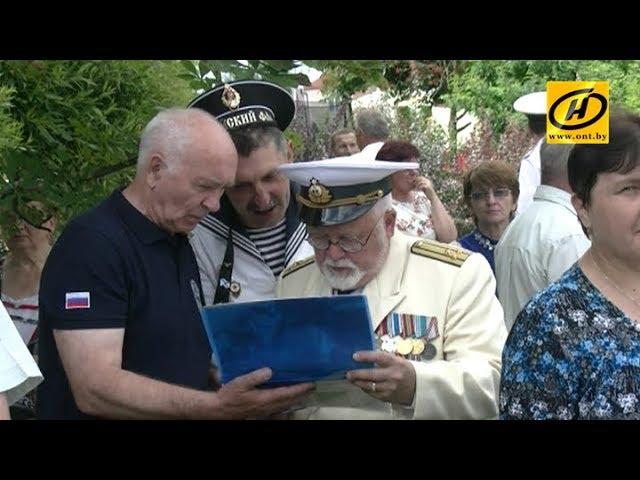 Военные моряки отмечают свой профессиональный праздник в Минске