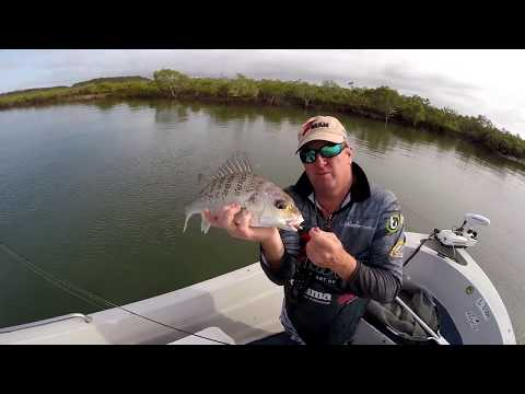 How To Catch Grunter On Soft Plastics With Paul Chew