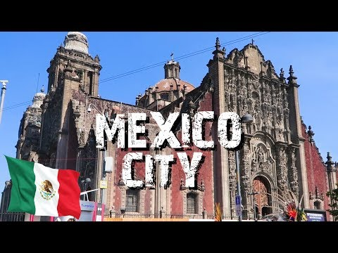 A DAY IN MEXICO CITY - FIRST TIME IN MEXICO CITY