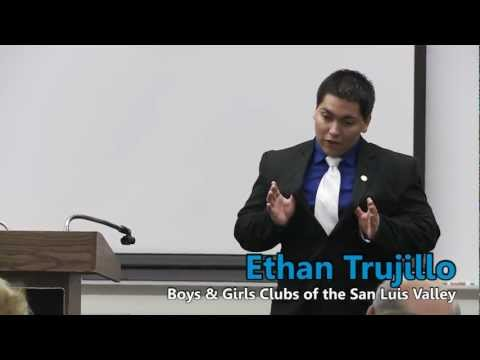 Colorado Boys & Girls Clubs - Youth of the Year Speeches 2012