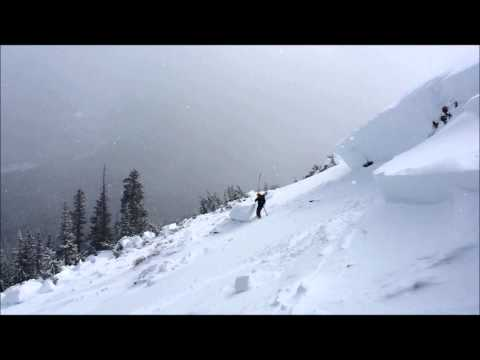 20140107 East Vail avalanche accident