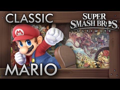 Super Smash Bros. Ultimate: Classic Mode - MARIO - 9.9 Intensity No Continues
