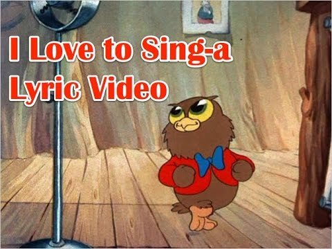 I love to singa about the moona